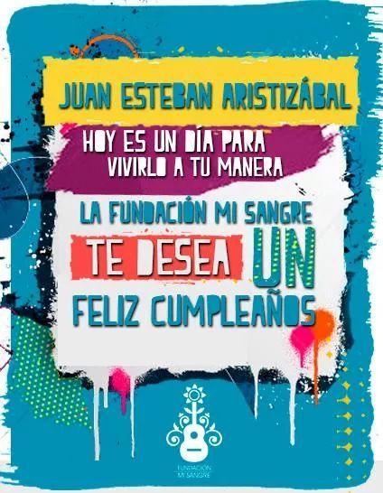 ¡Feliz cumpleaños @juanes!  Gracias por ser nuestra inspiración y por apoyar la construcción de paz en el mundo. http://t.co/IW4dGNbsun