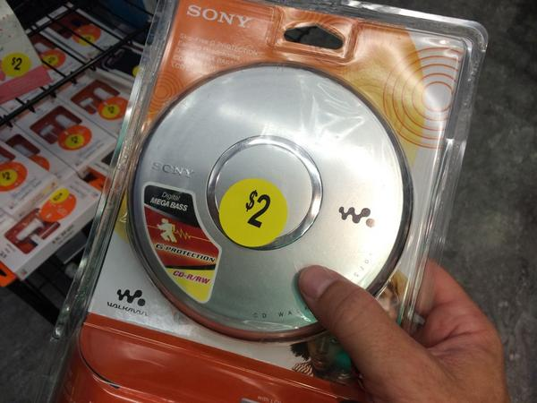 I'll never forget paying $125 for my first CD Walkman in the mid-90s. Feeling ancient at Walgreens. http://t.co/V4muNAXAdE