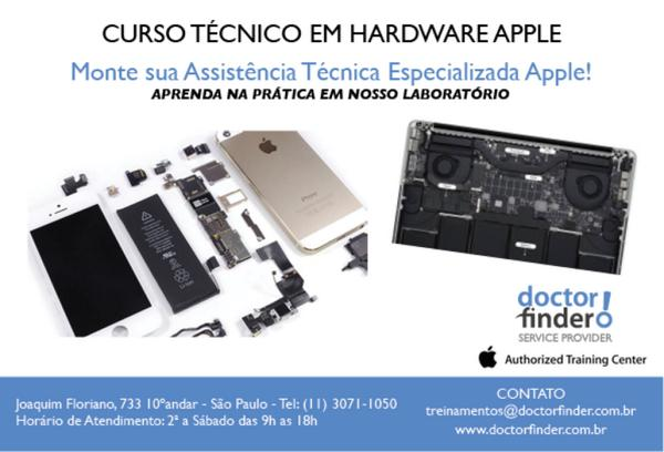 Monte sua Assistência Técnica Especializada Apple, aprendendo na prática em nosso laboratório técnico! http://t.co/QRW22s8U9n