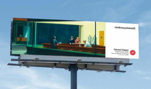 Art Takes Over 50,000 Outdoor Ad Spaces in the U.S., and Wow Is It Beautiful http://t.co/13Wm1F1nD4 {via @adweek} http://t.co/rAD8fx0u9W