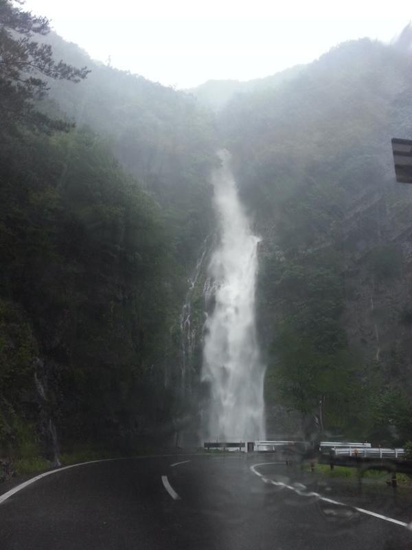 十津川村七色地区にある、十二滝、現在の状況。#十津川 http://t.co/Eg25fGUx4r