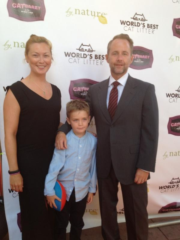 Billy Boyd & family at @kittybungalow #CATbaret http://t.co/s4eTxt6hpY