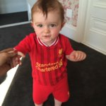 My son making good choices in life already as a 1 yr old. @LFC http://t.co/Ap2rx4XX2Z