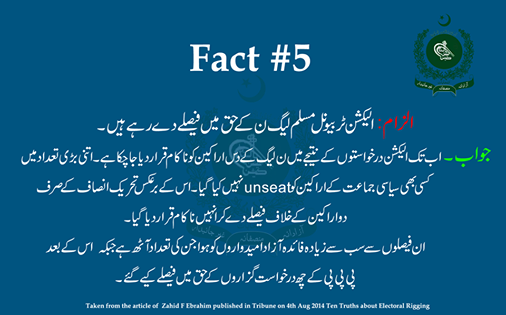 Rigging Allegation # 5& Its Rebuttal #PTI #PMLN #Pakistan http://t.co/4V0Z7cd5mg