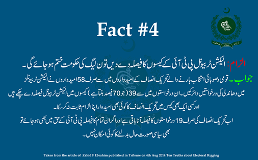 Rigging Allegation # 4 & Its Rebuttal #PTI #PMLN #Pakistan http://t.co/gOpxUbLTtt