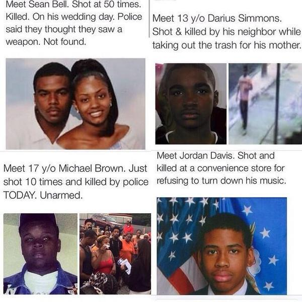 The murder of #MikeBrown was a tipping point. This isn't just about him anymore, or #Ferguson. America must change. http://t.co/p1ZP8wsySH