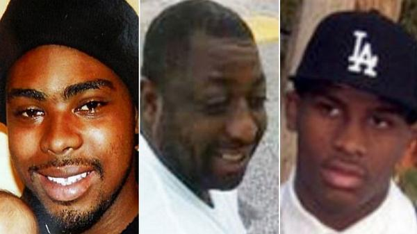 A history of 20 unarmed black men killed by law enforcement: http://t.co/rB9ga19I3t http://t.co/YSnv7ehQwu