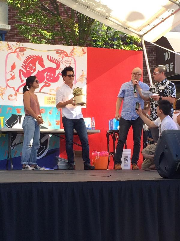 Judge's Choice 1st Place : @maenam! #GoldenDumpling2014 Champions!!Congratulations @chefangusan. http://t.co/Zqt8FIZoKO