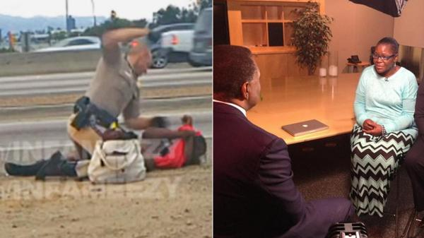 Woman beaten by CHP officer speaks out for the first time at 4pm on @ABC7 http://t.co/ykafgErjrf http://t.co/cEw9FND8JC