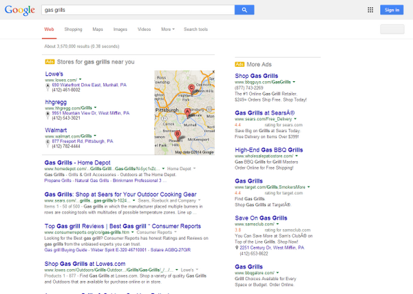 Just popped up on Google last night - Is this paid local? http://t.co/9VUanoXpfX