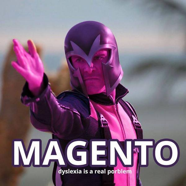 Dyslexia is a real porblem. #Magento http://t.co/1eRbSPBz3c
