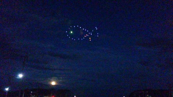 月と魚!#LUN811宮古市田老 #iwaminTV http://t.co/UW4MC0xdoT