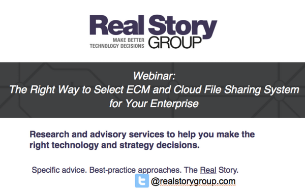 Join us this Wednesday #Webinar: How to Select the Right #ECM Platform for Your Enterprise - http://t.co/BrmeIe4T8c http://t.co/rj70lzDwdc