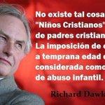 RT @subversivos_: Imposición de creencias. No existen niños cristianos, si no hijos de padres #cristianos http://t.co/K1h1Ou8jZk