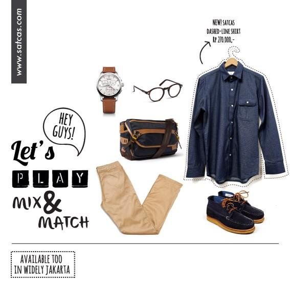 Monday madness inspiration. Must-have denim long-sleeve shirt, very dapper indeed. http://t.co/YtE01Mkq4f