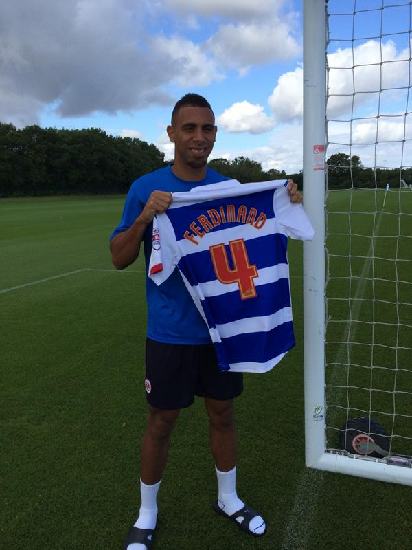 It's all done happy 2 be back in English football at a fantastic club @ReadingFC #Royals new number new start #4 http://t.co/hcM58O6j2T
