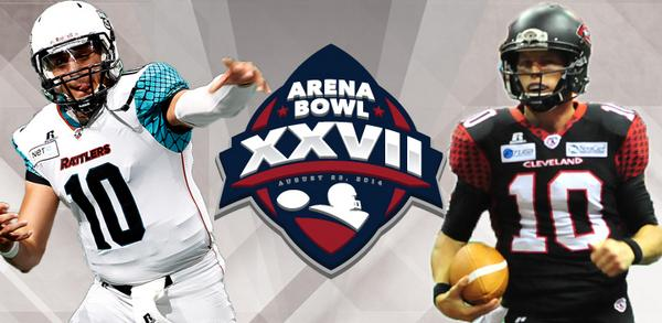 . @CLEGladiators to Host @ArizonaRattlers in @ArenaBowl27 http://t.co/biSkYHNwFC http://t.co/filTzloQ1S