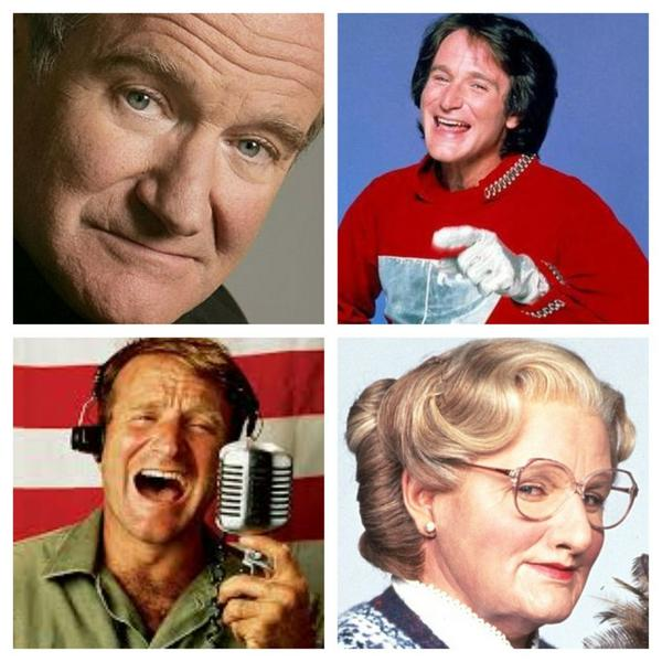 BREAKING NEWS and my heart: Beloved #RobinWilliams dies at 63: http://t.co/CA2gYrL2Ll So much laughter and now tears. http://t.co/Cc8wjrzFMY