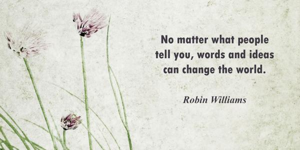 A great writer, actor and father said this. #RobinWilliams http://t.co/MpenAw24i1