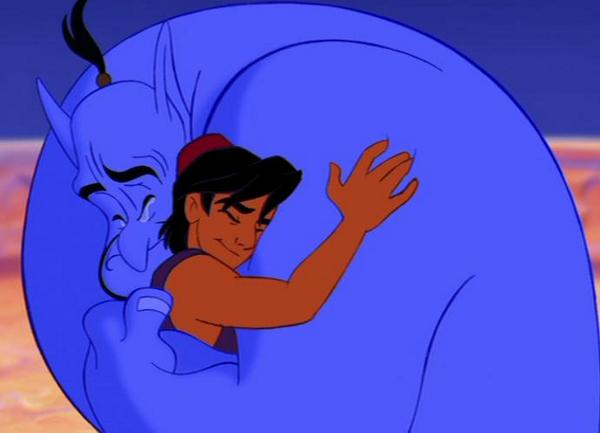 A HUGE part of all our childhoods has left us. RIP Robin Williams. :( http://t.co/QEVBpegNTr