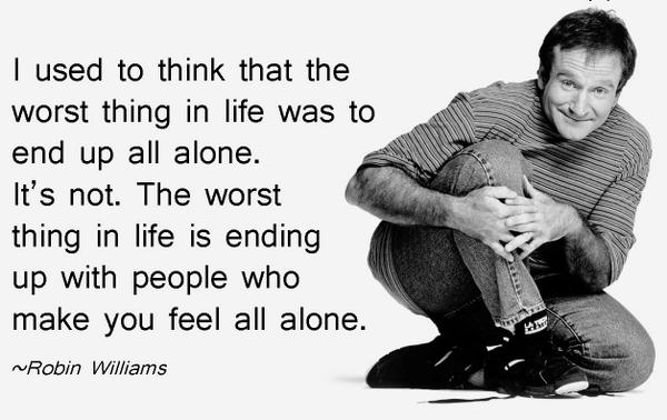 Rest In Paradise #RobinWilliams. The world has officially stopped. http://t.co/CVpmzmpaMp