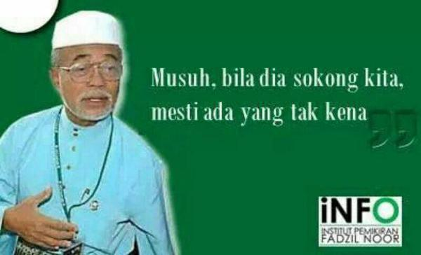 logik mudah yang difahami almarhum Ustaz Fadzil Noor. Peringatan untuk kita semua http://t.co/YXezMLmjbF
