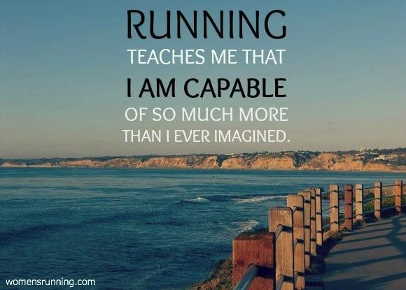 #MotivationMonday: Running teaches me that I am capable of so much more than I ever imagined. #running http://t.co/dqQ3vOwGl2