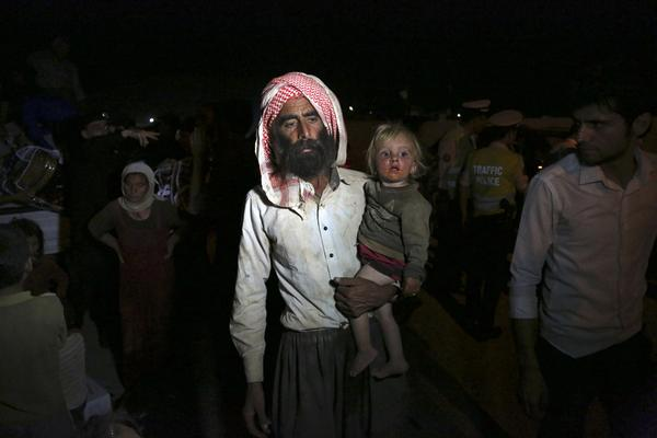 My night on the mountain of hell with dying Yazidi refugees, by @JonathanLKrohn - Exclusive: http://t.co/CeLqcAjg77 http://t.co/I5SeUPN1ao