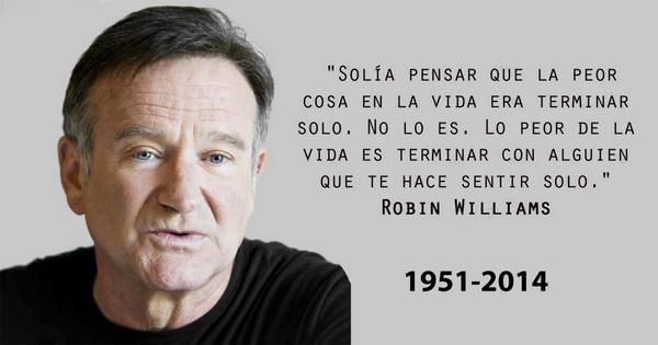 Se confirma la muerte del Actor @robinwilliams que película recuerdas de este gran Actor!!! Q.E.P.D #RobinWilliamsRIP http://t.co/dxNTIbJk48