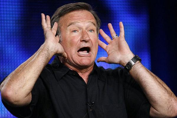 RIP Robin Williams... Remember Fams behind a laugh can be a load of sorrow..... http://t.co/L5QMAcPO45