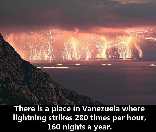 Catatumbo Everlasting Lightning Storm: http://t.co/vZyaWrac4a