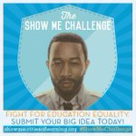 Join the #ShowMeChallenge to tell me how you would impact poverty by changing education http://t.co/V5vHdmeq4G