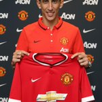 BREAKING: Angel Di Maria has completed his move to #mufc for a British record fee of £59.7m. #WelcomeDiMaria http://t.co/ySiDmJM0gD