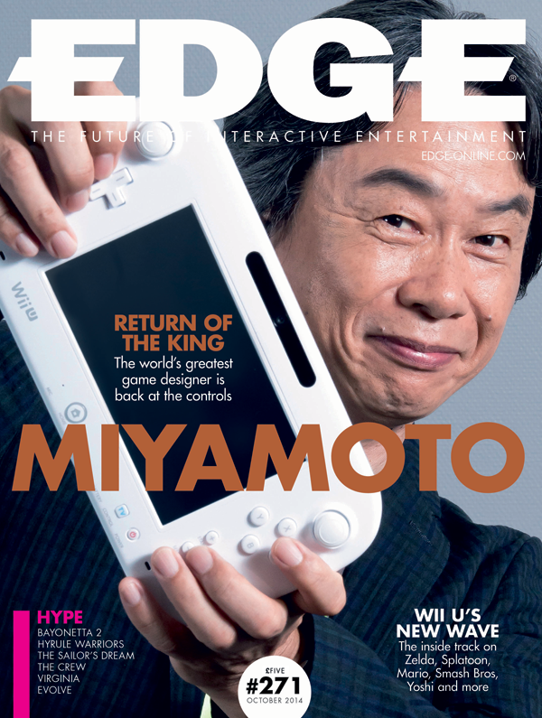 Our new issue, featuring an exclusive interview with Shigeru Miyamoto, is out on Thursday. Here's a look at the cover http://t.co/Q9UtcLTm99