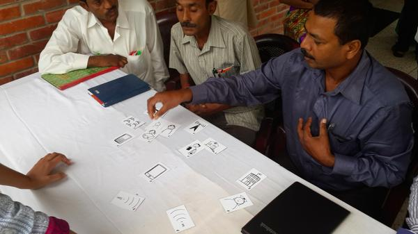 Design cards help re-imagine Leprosy diagnosis and treatment in Nepal. This is system design in action. #mhealth http://t.co/5ZsZ9HB5BM