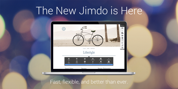Drumroll please...the new Jimdo is here! Learn all about the awesome new features here: http://t.co/5zI8BmzfsI http://t.co/OJj6pAlWKE