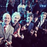 We had a wicked time the other night, air drummed our asses off in the audience lol #vmas @JohnFeldy http://t.co/ZQ0vNNYYCi