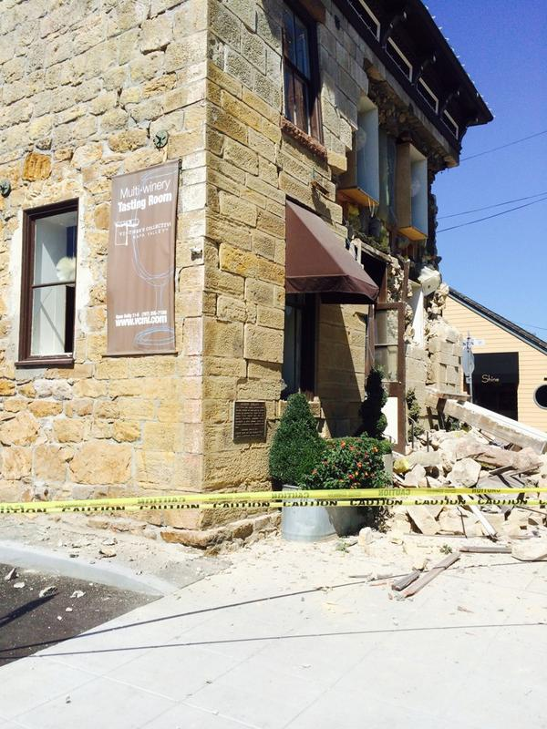 Napa Vintners Collective took some serious damage in #napaquake http://t.co/XGiHrQi23h