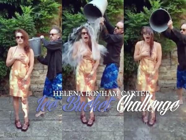 Helena's I've bucket challenge <3 now johnny and Tim! http://t.co/ZVIROEVaeT
