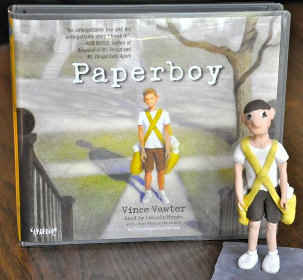 RT @VVAWTER: My new favorite sculptress is Hannah Metcalf who created this PAPERBOY sculpture, complete with 2 bags of papers. http://t.co/PDbIN9Y1rZ
