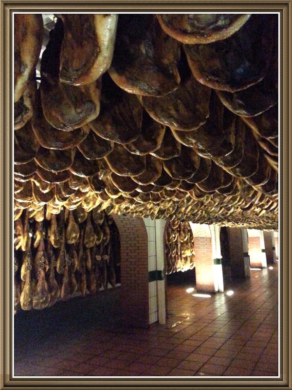 Wow! RT @SJEvansMW: Astonishing underground cellars of #Jamon de #Jabugo @5Jotas *gloriousthingsfromlittleacornsgrow* http://t.co/iiJKyhPY0E