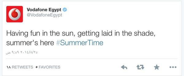 Social media fail of the year by @VodafoneEgypt http://t.co/gd6zG4t5Uy