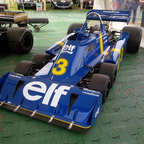 #F1 Tyrrell at #Carfest http://t.co/IpMk0NR7Sn
