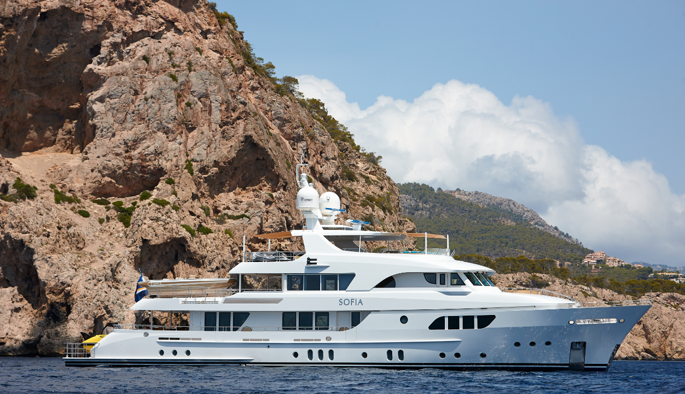 Yachting was lucky enough to climb aboard Sofia, a 137-foot motoryacht built by Moonen Shipyards. http://t.co/CJRFqubXp1