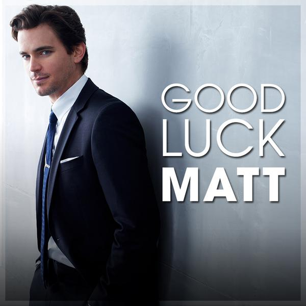 Retweet to wish Matt good luck on his Emmy nomination! http://t.co/GodSZbik1H