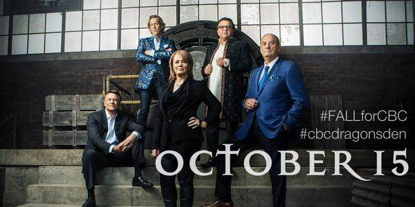 We're thrilled to announce that #cbcdragonsden SEASON 9, premieres October 15th! #FALLforCBC http://t.co/Xd8Mz1PYac http://t.co/wVcOLDzLHx