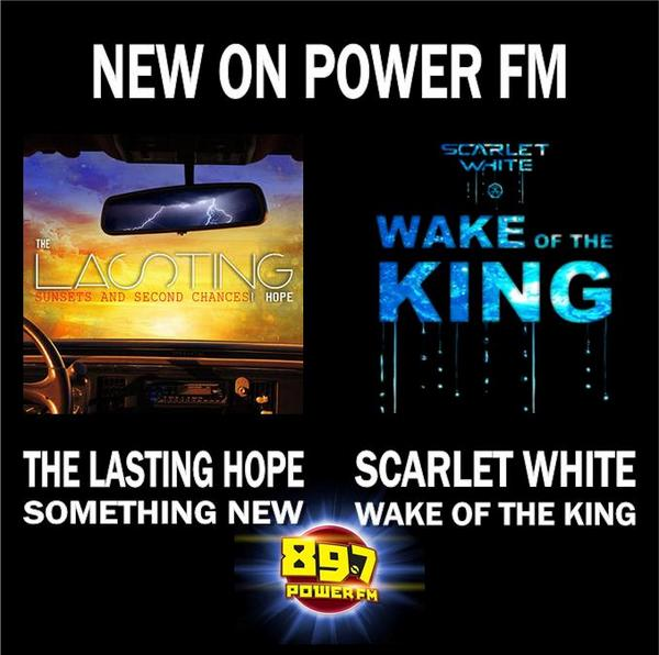 New stuff from @ScarletWhite and @TheLastingHope this week! Have you heard them yet? What do you think? http://t.co/DDVKQZDbpt
