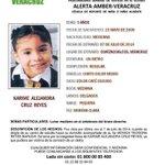 #AlertaAmber #Veracruz http://t.co/olfrQgtzyG