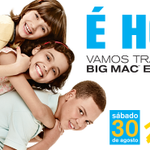 Hoje é dia de transformar BIG MAC em sorrisos :D Vem! #TodoMundoParticipa do #McDiaFeliz \o/ http://t.co/5MTHrbyLnJ