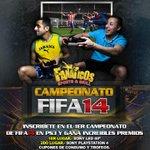 CAMPEONATO de #FIFA14 en @FanaticosSG con fabulosos premios! - INSCRIBETE ahora! #PlayStation #Guayaquil http://t.co/uDpqW8sxJu